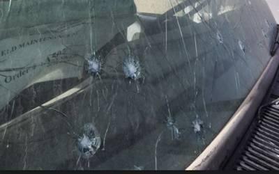 کیمپ جیل کے باہر گاڑی پر فائرنگ ، ایک شخص جاں بحق ، 5زخمی ہوگئے