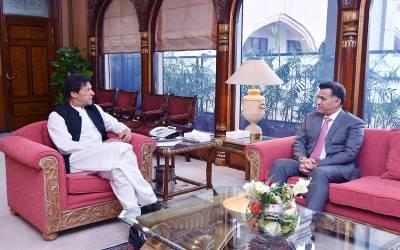 وزیراعظم سے ڈی جی آئی ایس آئی کی ملاقات ،اہم امور پر تبادلہ خیال