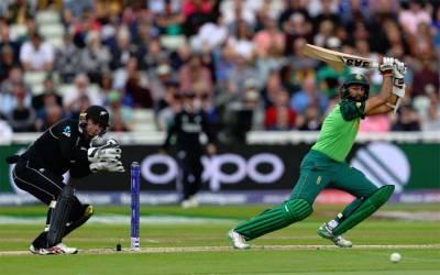 نیوزی لینڈ نے جنوبی افریقہ کو 4وکٹوں سے شکست دے دی
