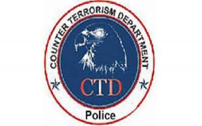 ملتان میں سی ٹی ڈی کی کارروائی، مقابلے میں کالعدم داعش کے 2 مبینہ دہشتگرد ہلاک