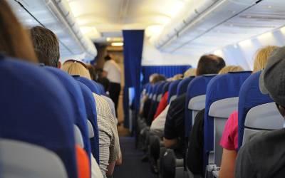 ترکی جانے والے جہاز میں لڑکا لڑکی نے اچانک انتہائی شرمناک کام شروع کردیا، مسافروں نے شرم کے مارے آنکھیں بند کرلیں