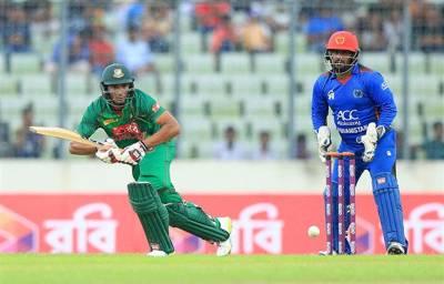 بنگلہ دیش نے افغانستان کو 62 رنز سے شکست دے دی