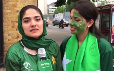 پاکستان اور نیوزی لینڈ کا میچ کل کھیلا جائے گا، شائقین کا اپنی ٹیم کے لئے جذبہ آپ بھی دیکھیے