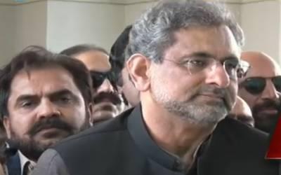 گرفتاری کیلئے تیارہوں ہم پر کوئی الزام تو لگائیں ،شاہد خاقان عباسی