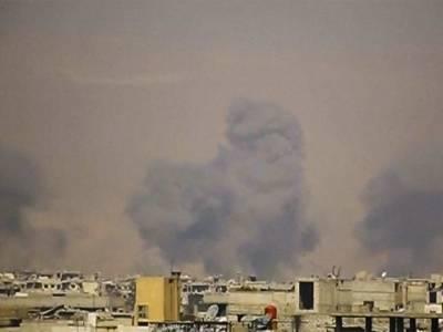 شام، حکومتی فورسز اور باغی جنگجوؤں کے درمیان ہونے والی تازہ جھڑپوں کے دوران 100 سے زائد افراد ہلاک