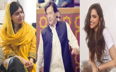 دنیا میں سب سے قابل عزت مرد و خواتین کی فہرست ، عمران خان اور ملالہ کے نام بھی موجود، دپیکا پڈکون کس نمبر پر آئیں؟