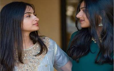 پاکستانی مسلمان لڑکی بھارتی ہندو خاتون کو دل دے بیٹھی، ہم جنس پرست جوڑے کی تصاویر وائرل