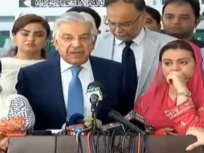 فرد واحد ذاتی اَنا اور تسکین کے لئے اپوزیشن رہنماؤں کو گرفتار کر رہا ہے،ابھی ہماری مزید گرفتاریاں ہوں گی:خواجہ آصف