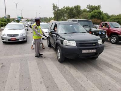 اسلام آباد ٹریفک پولیس کا جشن آزادی کی تقریبات کے سلسلے میں ٹریفک پلان جاری