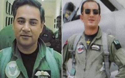 27فروری کو دشمن کے جہاز گرانے والے ونگ کمانڈر نعمان علی اور سکواڈرن لیڈر حسن صدیقی کو بڑا اعزاز مل گیا