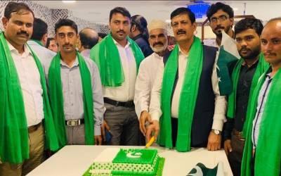 سب سے پہلے پاکستان،اے پی ایم ایل یواےای نے عجمان کےمقامی ہوٹل میں14اگست اور عید ملن کی تقریب کا انعقاد کیا