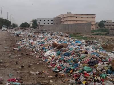 بحریہ ٹاؤن کے اشتراک سے ملیر ماڈل زون میں جاری صفائی کے دوران 7ہزار ٹن کچرا اُٹھا لیا