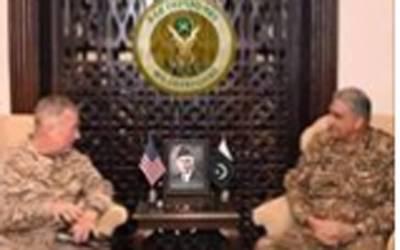 امریکی سینٹرل کمانڈ کے کمانڈرجنرل کینتھ میکنزی پاکستان پہنچ گئے