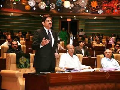 سندھ کی تقسیم کا جھوٹا خواب دیکھنے والوں کا دو مہینے قبل ہی اسمبلی فلورپر پردہ چاک کردیا تھا ،سندھ ٹوٹنے کا خواب دیکھنے والے نیست و نابود ہونگے:مراد علی شاہ