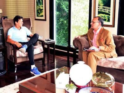 وزیراعظم سےاعظم سواتی کی ملاقات، مقبوضہ کشمیر، دورہ امریکا ،پارلیمانی امور اورچیف الیکشن کمشنر ریفرنس پر تبادلہ خیال