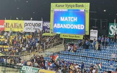 جنوبی افریقہ اور انڈیا کا پہلا ٹی 20 ایک بھی گیند کھیلے بغیر ختم کردیا گیا، وجہ بھی سامنے آگئی