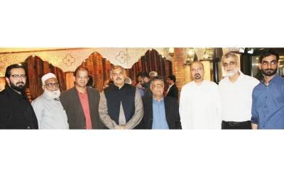 قونصلیٹ آف پاکستان دبئی کے کمرشل قونصلر ڈاکٹر ناصر کے اعزاز میں عشائیہ