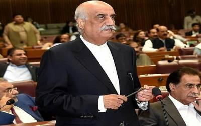 اپنی گرفتاری سے کچھ دیر پہلے خورشید شاہ نے اسلام آباد لاک ڈاﺅن پر کیا بیان دیا تھا؟