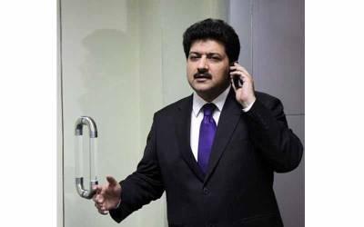 """"""" خورشید شاہ سے عدالت میں ملاقات ہوئی تو مسکراتے ہوئے کہنے لگے کہ ۔۔' ' سینئر صحافی حامد میر اور پی پی رہنما کے درمیان کیا گفتگو ہوئی جانئے"""