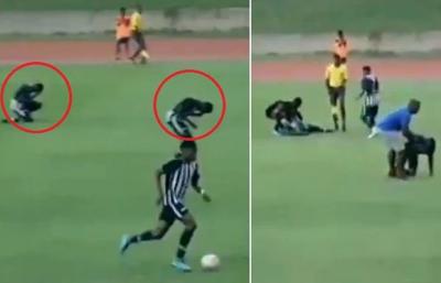 """""""فٹ بال میچ کے دوران کھلاڑیوں پر آسمانی بجلی گر گئی اور پھر۔۔۔"""" ناقابل یقین خبر آ گئی"""