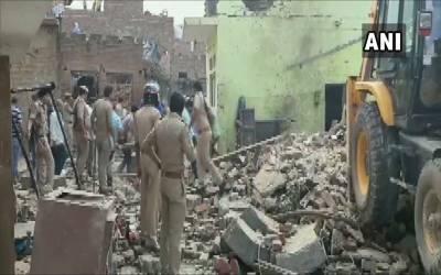 بھارتی ریاست اتر پردیش میں خوفناک دھماکہ، اتنی ہلاکتیں کہ پورا بھارت سوگ میں ڈوب گیا