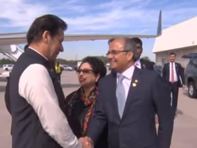 وزیراعظم عمران خان دورہ سعودی عرب کے بعد امریکا پہنچ گئے