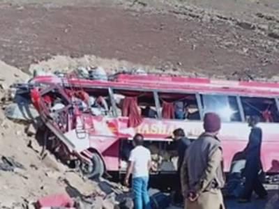 پاک فوج کا بابو سر ٹاپ بس حادثے کے مقام پر ریسکیو آپریشن مکمل ،جاں بحق ہونے والوں میں پاک فوج کے 10 جوان بھی شامل