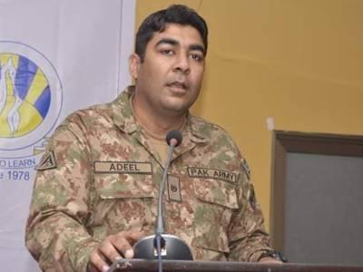 وفاقی وزیر علی زیدی اور بلال غفار کی شہید میجر عدیل کے گھر آمد،خاندان سے اظہارتعزیت