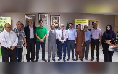 پاکستان قونصلیٹ میںڈپٹی قونصل جنرل شائق احمد بھٹو کے ہمراہ پاکستانی صحافیوں اور سعودی پریس اینڈ پبلیکیشن کے نمائندوں سے ملاقات