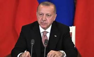 شام میں فوجی کارروائی شروع کرنے کے بعد ترکی کا پہلا