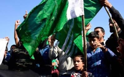 وادی میں کشمیریوں کا سڑکوں پر آکر عمران خان سے اظہار تشکر ، فضا آزادی کے نعروں سے گونج اٹھی