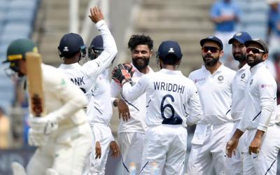 پونے ٹیسٹ، بھارت نے جنوبی افریقہ کو اننگز اور 137 رنز سے شکست دیدی