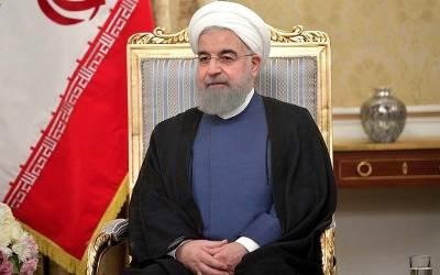 ایرانی صدر حسن روحانی نے وزیراعظم عمران خان سے ملاقات کے بعد پریس کانفرنس میں بڑا اعلان کر دیا