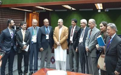 پاکستان نے بھارت کو چاروں شانے چت کردیا، ششی تھرور آﺅٹ ، رضا ربانی انٹر پارلیمانی یونین کی ایگزیکٹو کمیٹی کے رکن منتخب