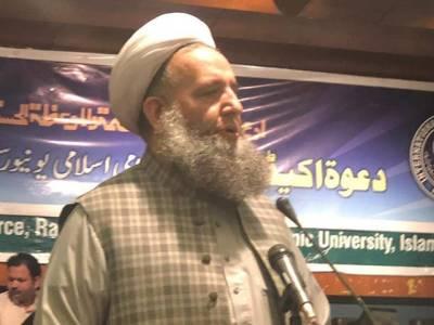 حکومت یا وفاق کو کمزور کرنے والا کوئی بھی عمل مشکلات میں اضافے کا سبب بنے گا: پیر نور الحق قادری