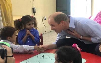اسلام آباد کے سکول کی بچی کا شہزادہ ولیم سے دلچسپ مکالمہ سامنے آگیا