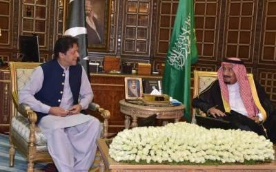 وزیر اعظم عمران خان کی شاہ سلمان اور سعودی ولی عہد سے ملاقاتیں، خطے کے تنازعات کو سفارتکاری کے ذریعے حل کرنے پر زور