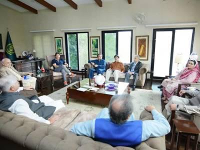 وزیر اعظم کے زیر صدارت اہم جائزہ اجلاس،ملکی داخلی سیکیورٹی صورتحال اور عوام کے جان و مال کے تحفظ بارے تبادلہ خیال