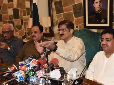 کراچی کا نام تبدیل کرنے کی باتیں افواہیں،علامہ اقبالؒ نے ایسے پاکستان کا خواب نہیں دیکھا تھا جہاں پر لوگوں کو بیروزگار کرنے کی باتیں کی جائیں: وزیراعلیٰ سندھ
