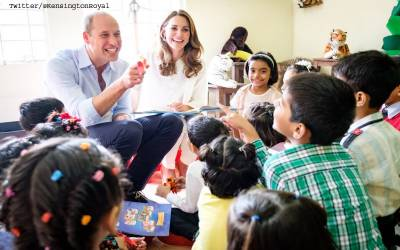 شہزادی کیٹ مڈلٹن نے اردو میں ننھے بچوں کو سالگرہ کی مبارکباد دے کر دل جیت لیے