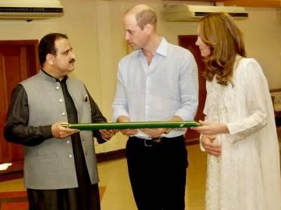برطانوی شاہی جوڑے کی مہمان نوازی پر فخر ہے:وزیر اعلیٰ پنجاب