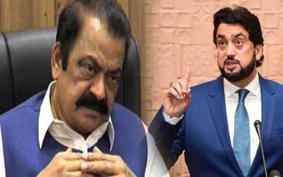 شہریار آفریدی نے رانا ثناءاللہ کو کیا کہہ دیا کہ انٹرنیٹ پر ہنسی کا طوفان آگیا