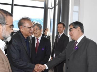 صدر مملکت ڈاکٹرعارف علوی جاپان کے پانچ روزہ سرکاری دورہ پر ٹوکیو پہنچ گئے