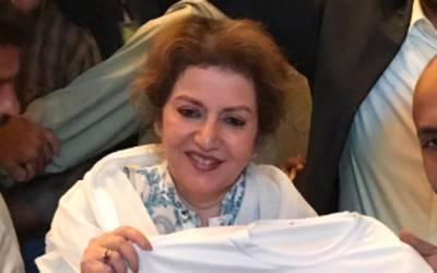 ن لیگ کی رہنما شائستہ پرویز ملک نے حکومت کواپنی گرفتاری کی پیشکش کردی