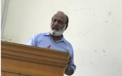 تخلیقی صلاحیتیں رکھنے والے طلبہ اردو کے ساتھ ساتھ علاقائی زبانوں میں بھی طبع آزمائی کریں، پروفیسر ڈاکٹر مختار احمد عزمی