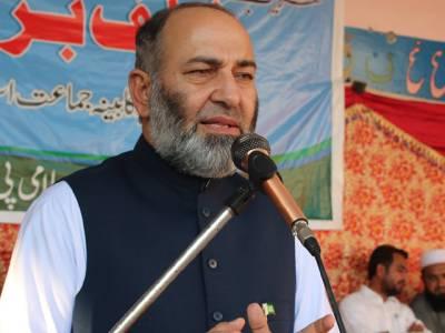 دھرنے کے خوف نے حکومت کو کنٹینروں اور خندقوں کے پیچھے چھپنے پر مجبور کردیا:سینیٹر مشتاق احمد خان