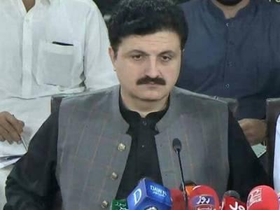 ٹرین حادثہ افسوسناک،پختونخواکے عوام نے ثابت کردیا کہ وہ بلاجواز دھرنوں میں شرکت نہیں کرتے:اجمل خان وزیر