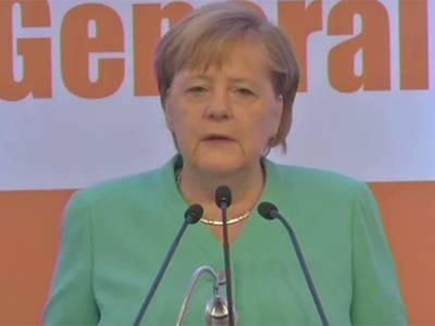 جرمن چانسلرکا بھارتی زیر انتظام کشمیر کی صورت حال پر تشویش کا اظہار