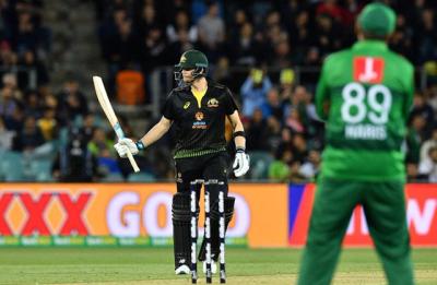 دوسرے ٹی 20 میں پاکستان کو 7 وکٹوں سے شکست، آسٹریلیا کی سیریز میں 0-1 کی برتری