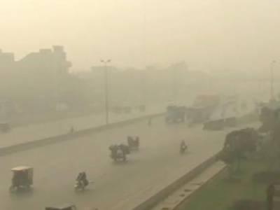 لاہور شہر میں فضائی آلودگی کا راج ، آلودگی سے بچاؤکیلئے محکمہ ماحولیات کی سست روی بھی برقرار